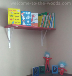 Dr Seuss Table And Chairs Makeover Cat In The Hat