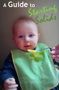 information on starting baby on solids