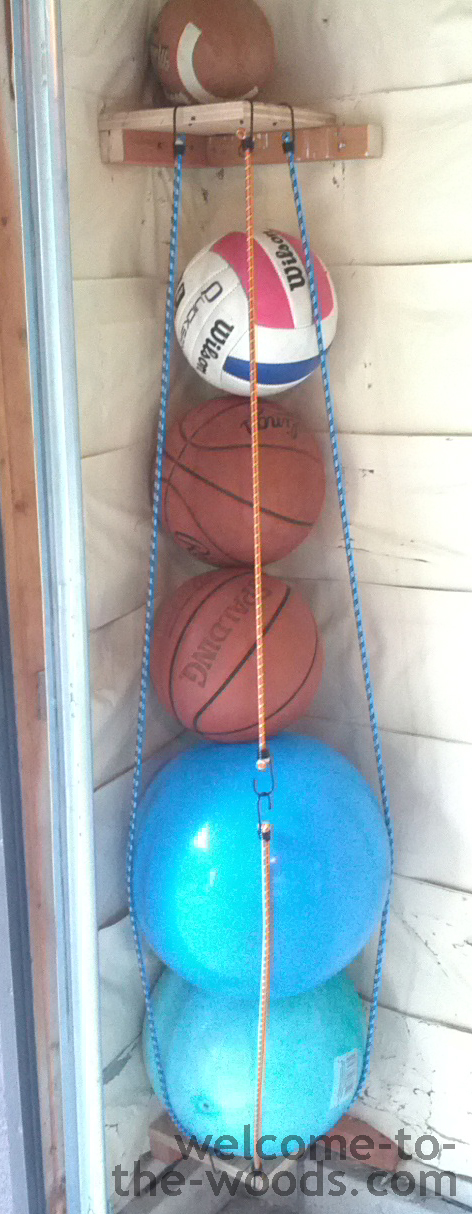 diy ball corral tutorial for garage