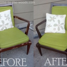 paint furniture in 4 easy steps