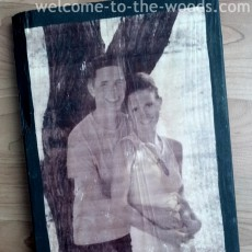 wood block photo transfer picture tutorial