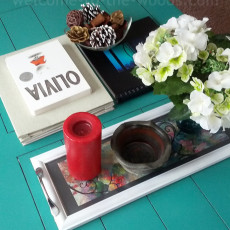 coffee table decor styling a coffee table diy tray