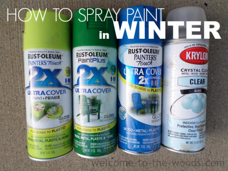 how to put paint into a spray can