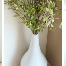 Vase makeover dining room corner decor ideas