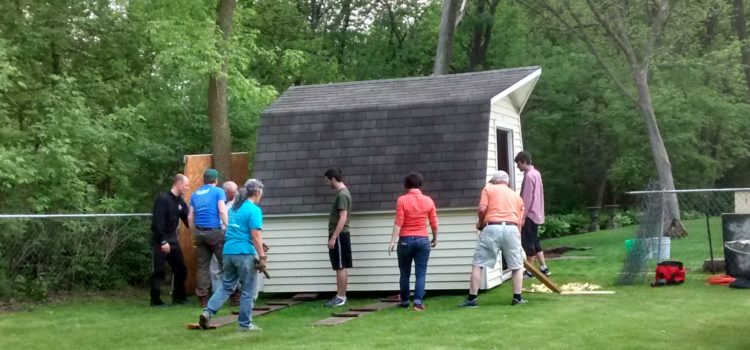 How to Move a Shed