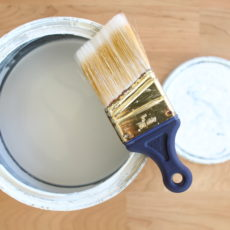 Paint your trim white, amazing before and after photos of the transformation!
