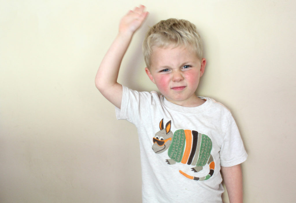 How to stop aggressive behavior in children and handle hitting