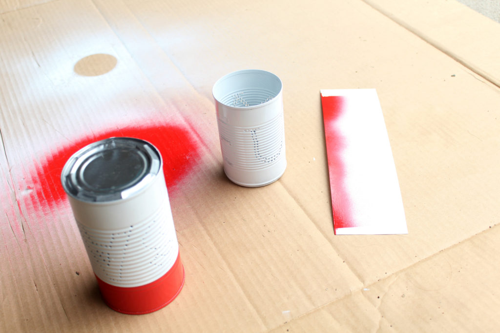 How to spray paint something multiple colors without using painters tape!