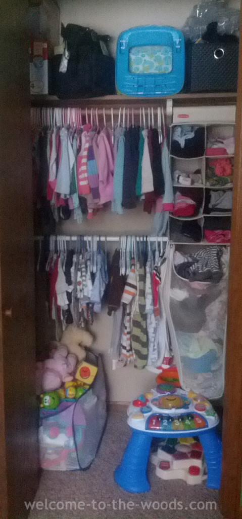 full closet baby stuff