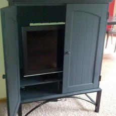black tv cabinet cupboard