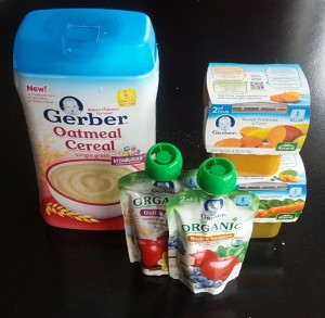 gerber baby food processed