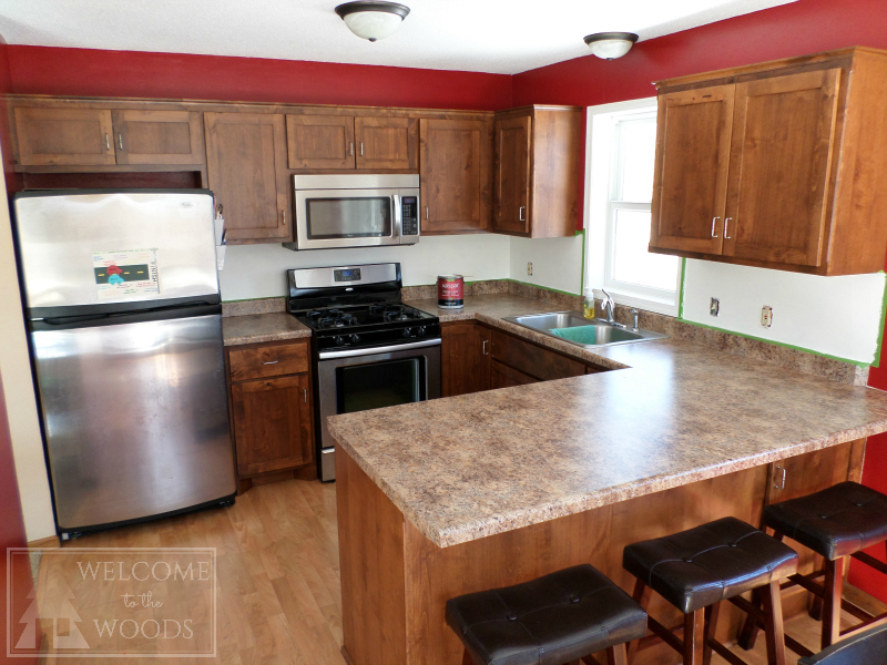Faux Tile Back Splash With Paint! - Welcome to the Woods Faux Paint Color Ideas Kitchen Html on yellow kitchen paint ideas, kitchen wall colors, kitchen paint purple, kitchen paint schemes, kitchen updates, kitchen backsplash, kitchen paint ideas retailer, kitchen design, green kitchen paint ideas, country paint colors ideas, kitchen ideas and colors 2013, blue kitchen ideas, kitchen lighting ideas, kitchen paint colors wild, kitchen colors for 2015, kitchen decor, kitchen color schemes, kitchen countertops ideas, kitchen colors for 2014, bedroom paint ideas,