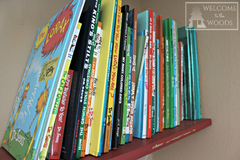 Dr. Seuss book collection