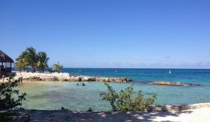 Beach ocean lagoon chankanaab cozumel