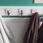 Bathroom Towel Hooks Using Silverware