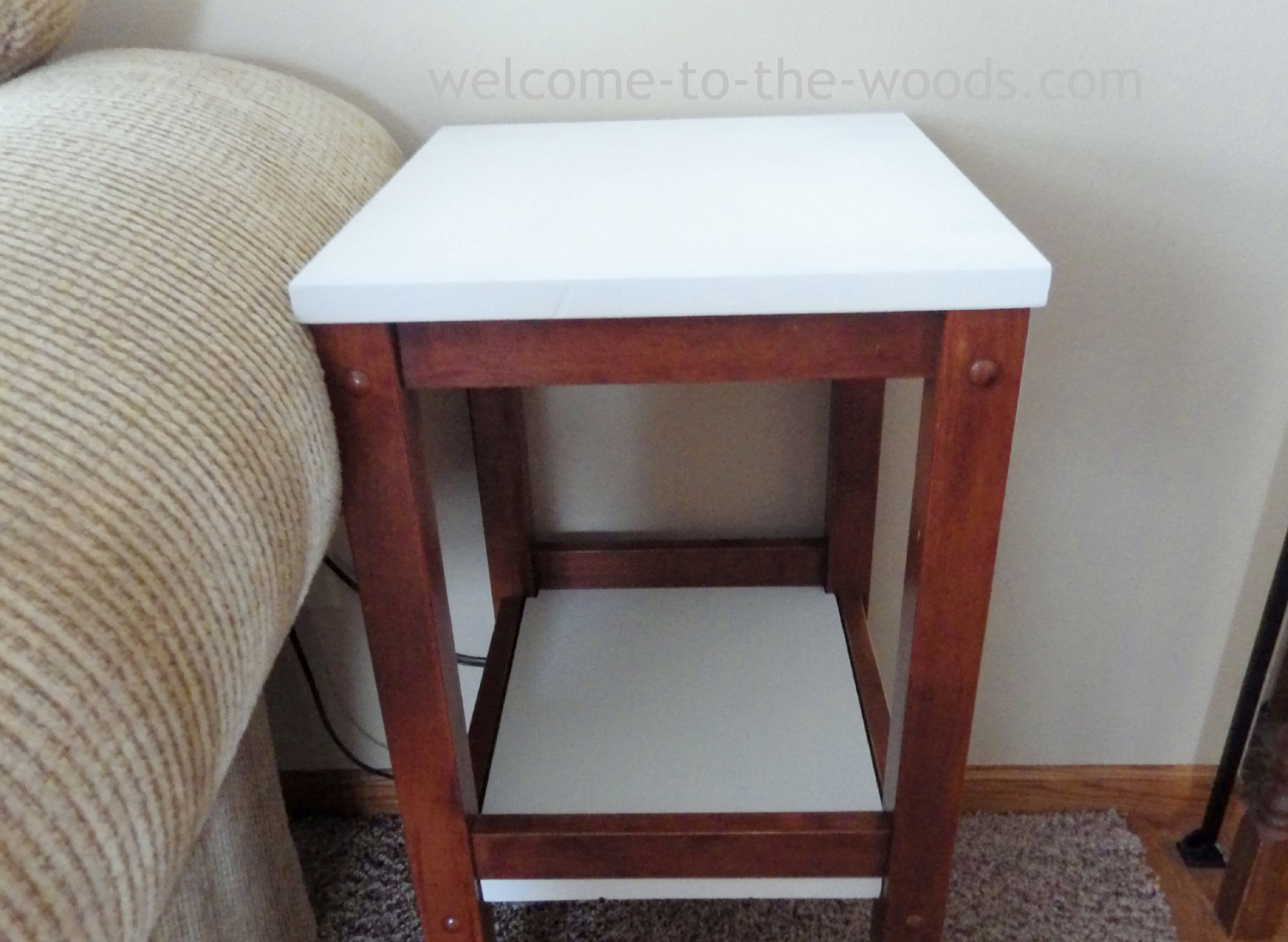 Bar Stool End Tables Welcome To The Woods