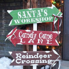 decor holiday sign ideas craft
