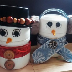 snowman snowmen craft for holidays kids easy