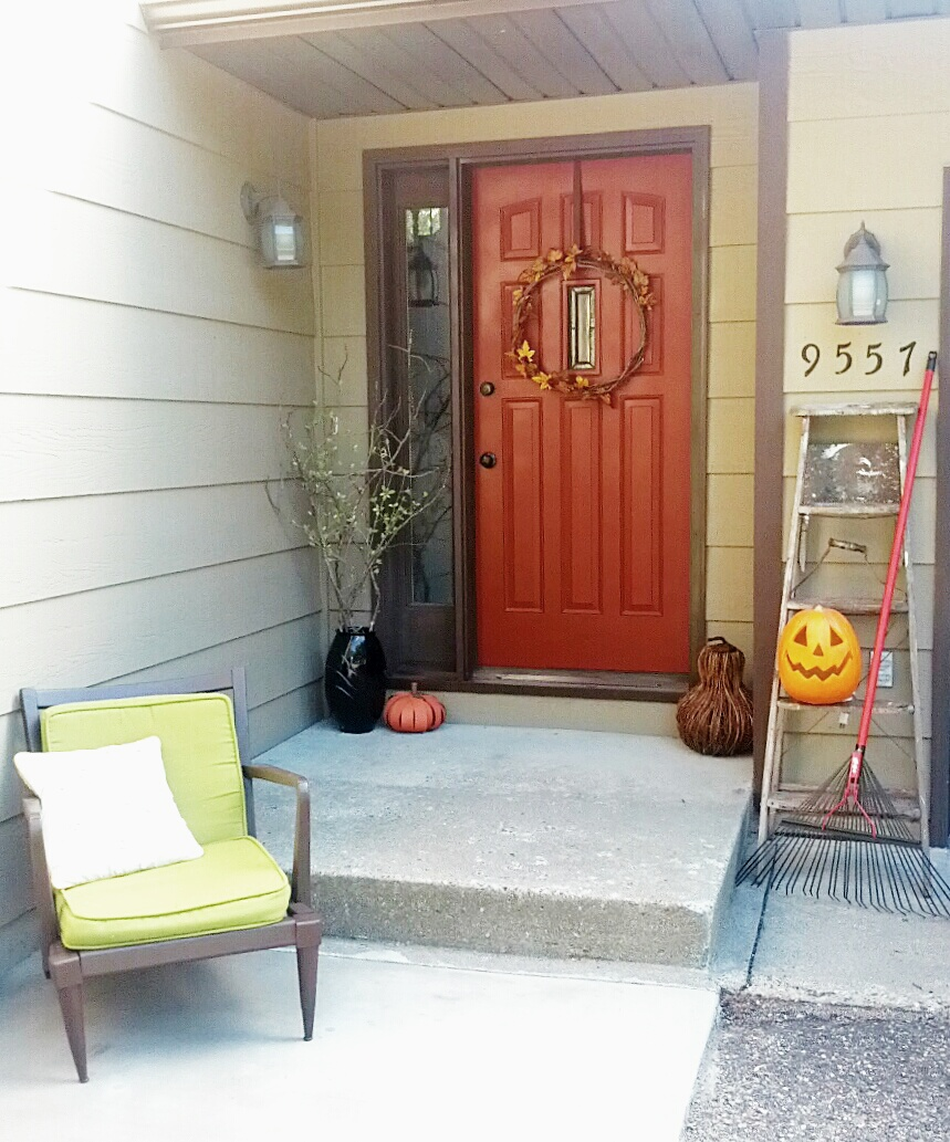 Home Entrance Decor: Fall Front Entrance Decor
