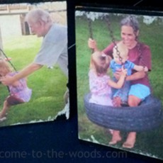 mod podge photo transfer to wood picture tutorial