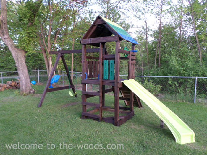 Playground Makeover Welcome To The Woods