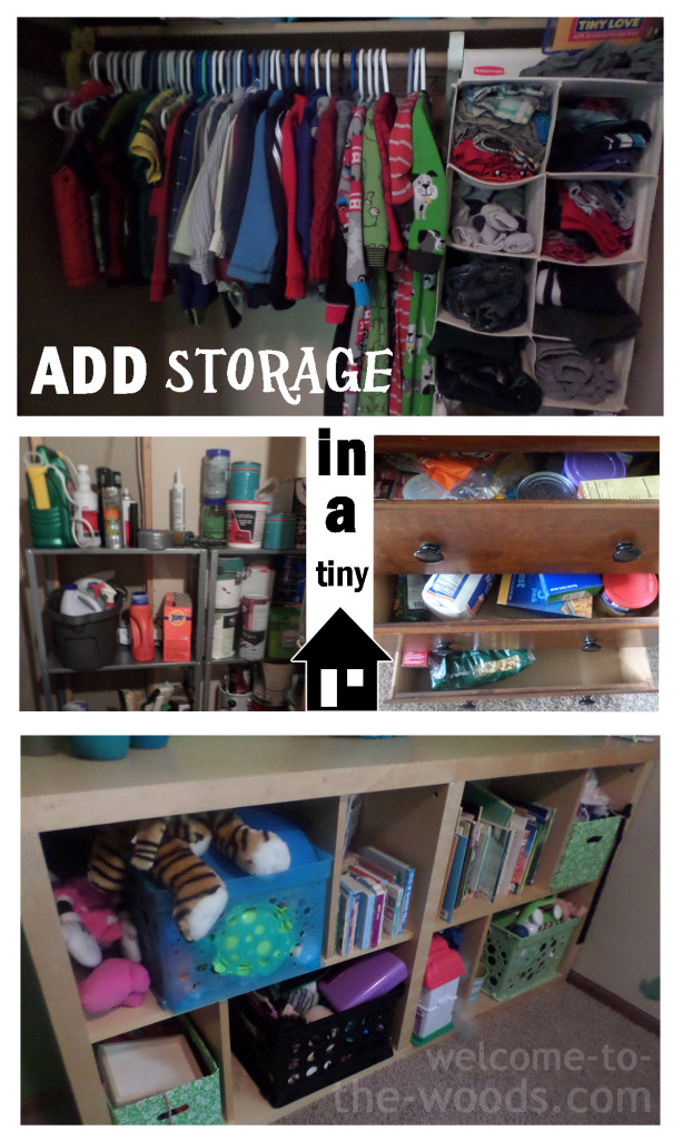 How To Add Storage Space In A Tiny Home.