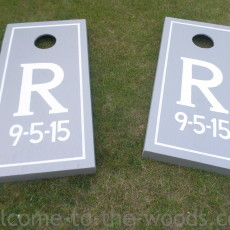 DIY Bean Bag Toss Game Tutorial