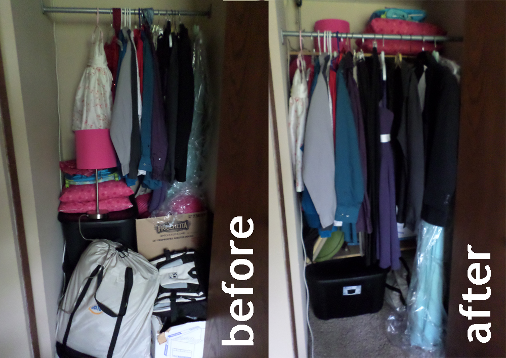 Add Shelves To The Back Of Your Closet To Drastically Increase Your Homes  Storage Space!