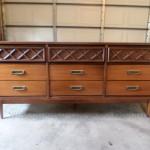 Mid Century Modern Dresser Redo