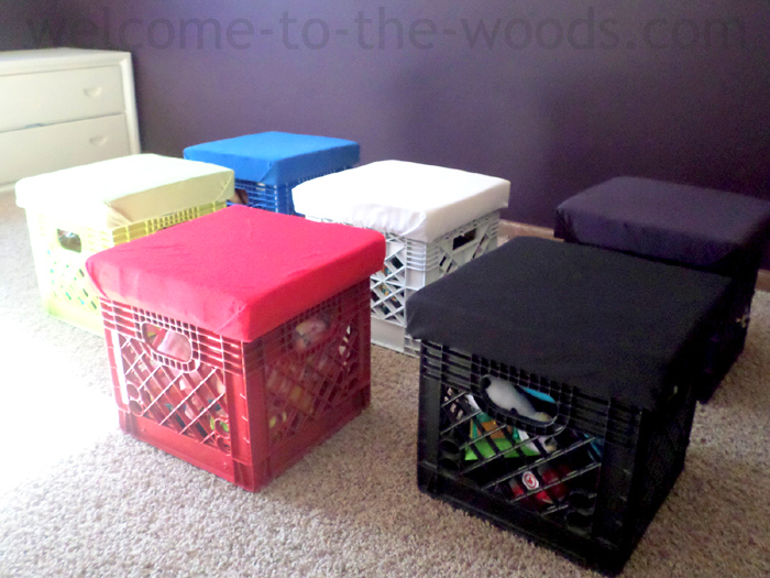 Win The Battle With Toys In Your House. Create This Diy Toy Storage By  Building. Turn Old Milk Crates ...