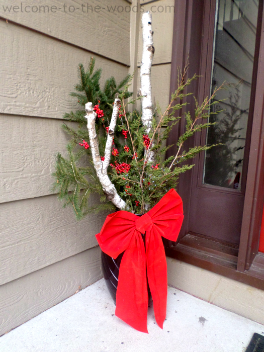 Front Porch Vases Decorating Ideas