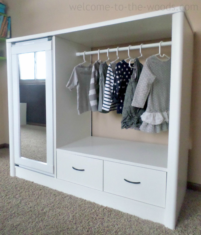 I Turned An Old Entertainment Center Into A Chic And Adorable Armoire For  My Daughter.