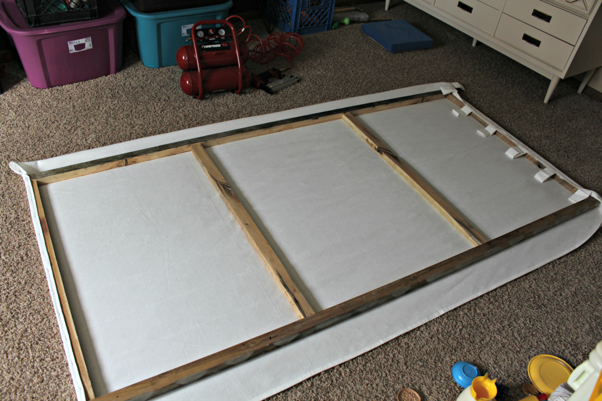 Diy large wall canvas