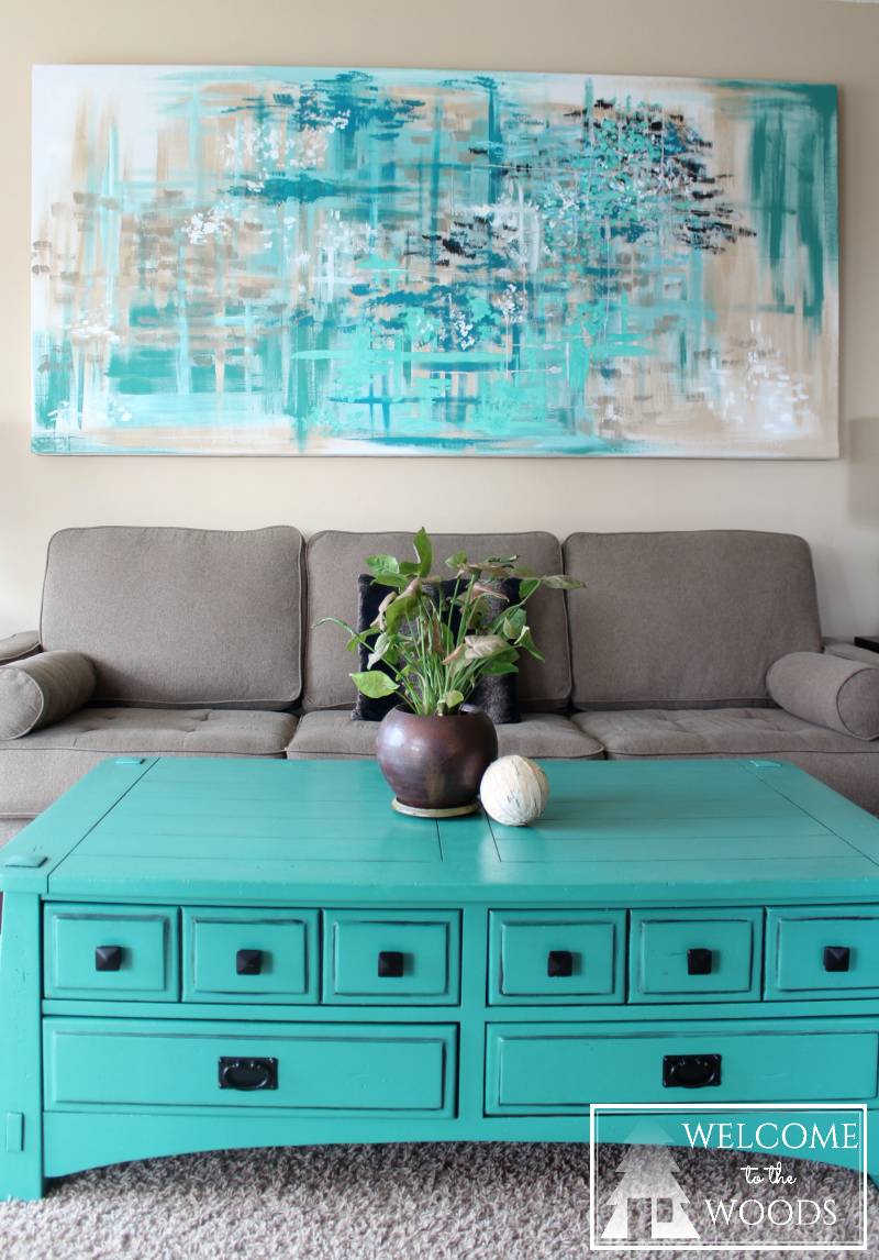 Blue, Teal, Turquoise, Silver, Calming And Soothing Colors For Living Room  Wall