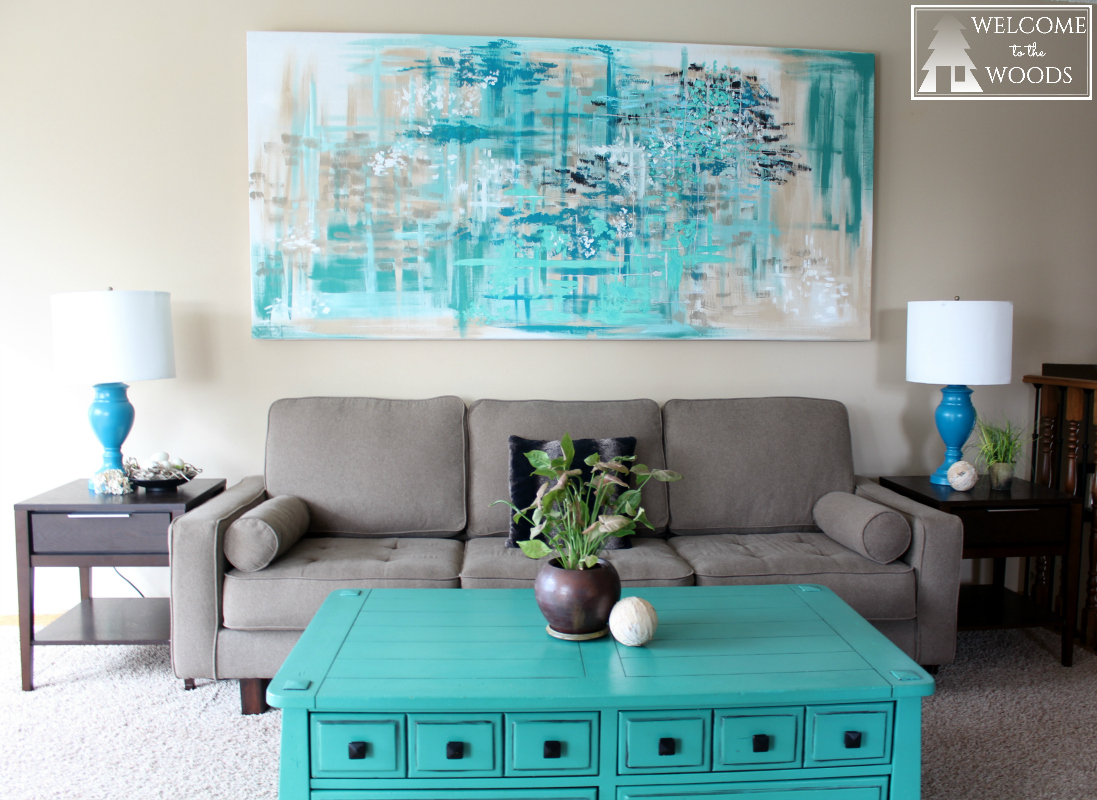 Large Canvas Wall Art Welcome To The Woods