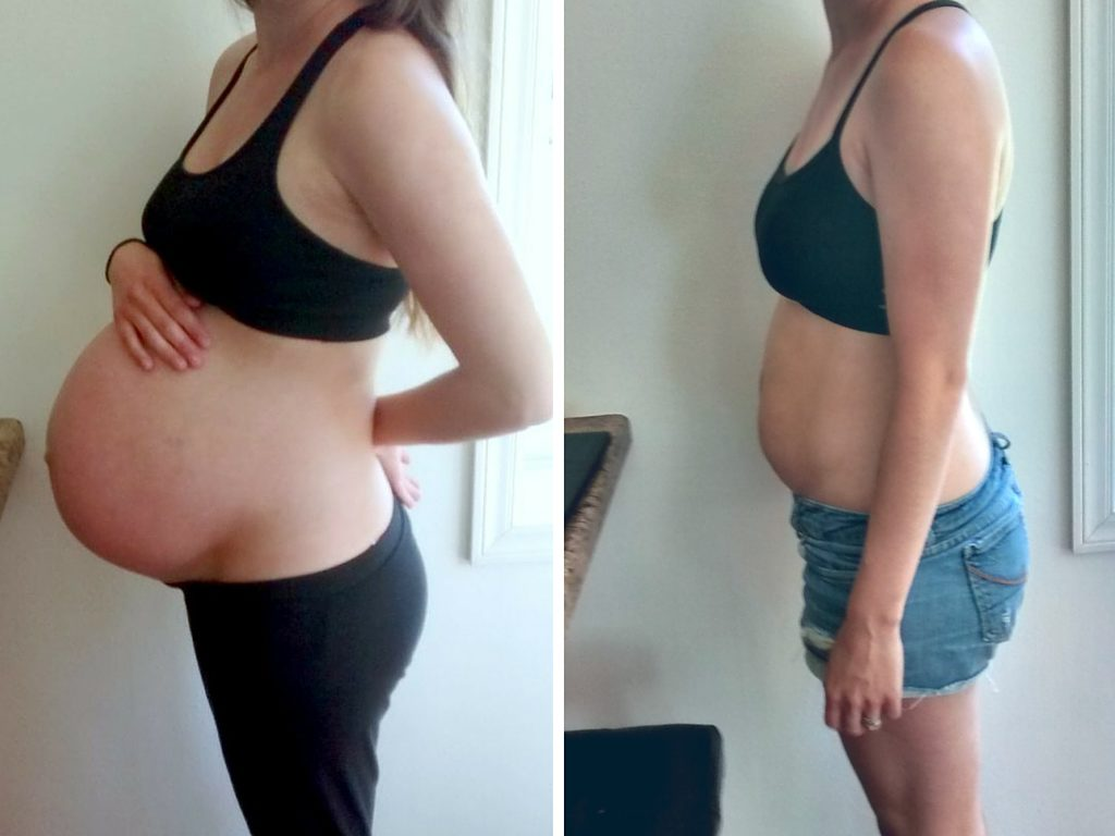 Losing Baby Weight After Pregnancy - Welcome to the Woods