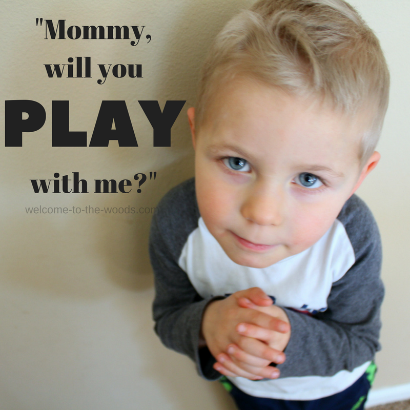 """When your kid asks, """"Mommy, will you play with me?"""" Here's 5 ways to get in that quality time from the Mom who hates playing with her kids."""