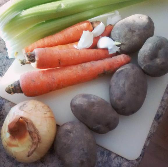 Real food, real ingredients. Making beef stew!