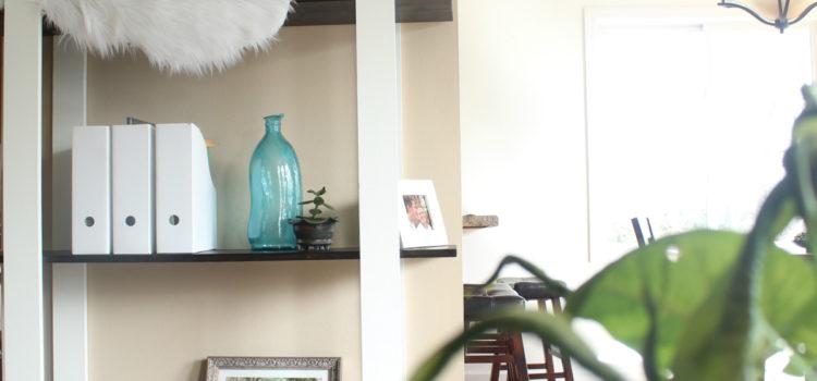 Modern DIY Shelves For Just $25!
