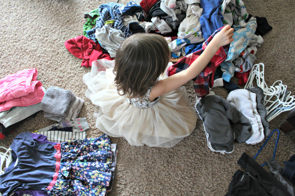 Raising Capable Kids is about letting them have ownership over chores that teach them self-sufficiency and responsibility.