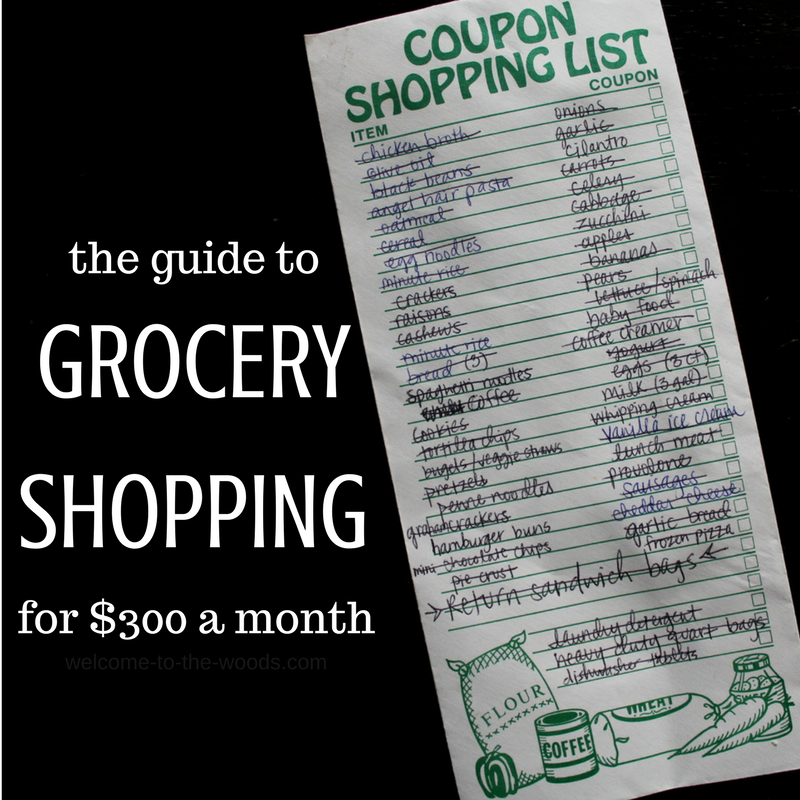a highly detailed shopping list will guide to grocery shopping that is more efficient and cost