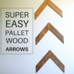 Easy Pallet Wood Arrows Tutorial
