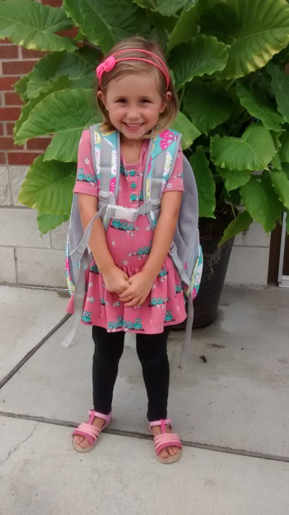 The start of school for my kindergartener has me thinking about pros and cons of this new beginning
