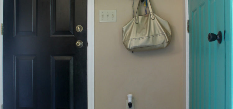 Entryway Makeover Part 3: Interior Paint