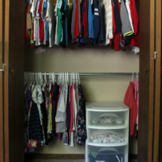 Organize your closets in 3 easy steps and make the most of your home's storage space.