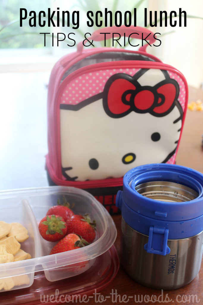 Tips and tricks for packing school lunch for your kid including the best thermos to buy!