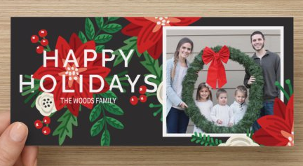 Holiday card preview