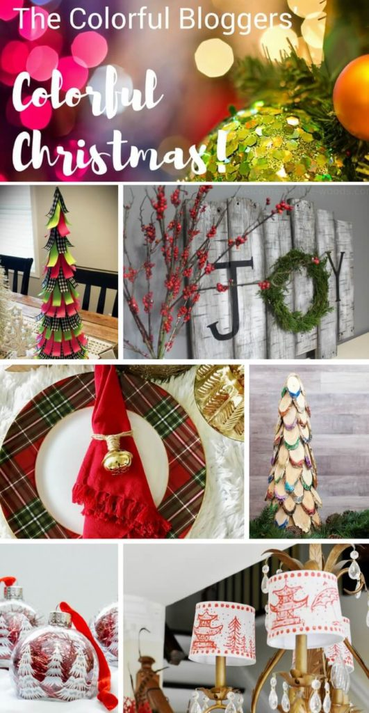 Colorful Christmas crafts by multiple bloggers are shared to inspire you this holiday season!