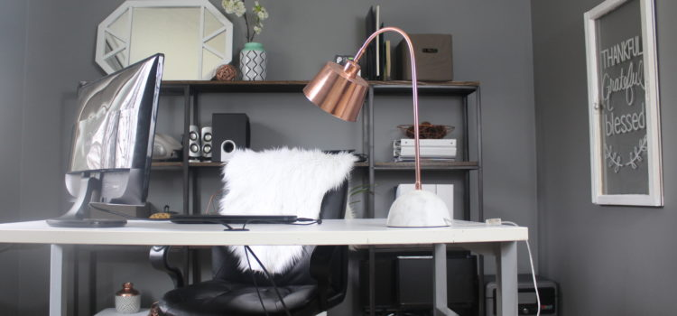 Office Makeover One Room Challenge FINAL REVEAL
