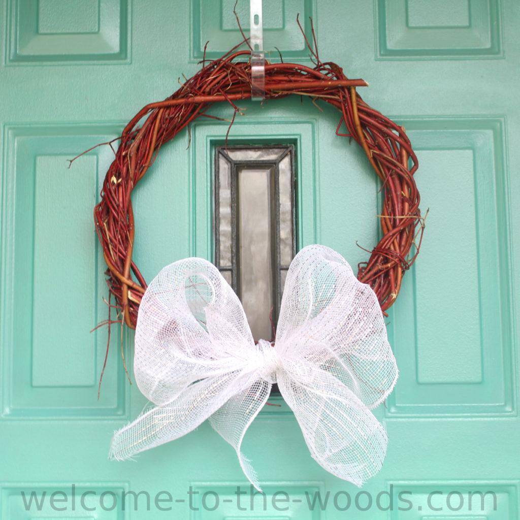 Red twig dogwood wreath weaving tutorial included with video demonstration